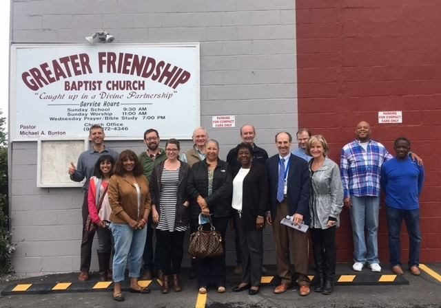 ACLT Board & Staff with Greater Friendship Leadership